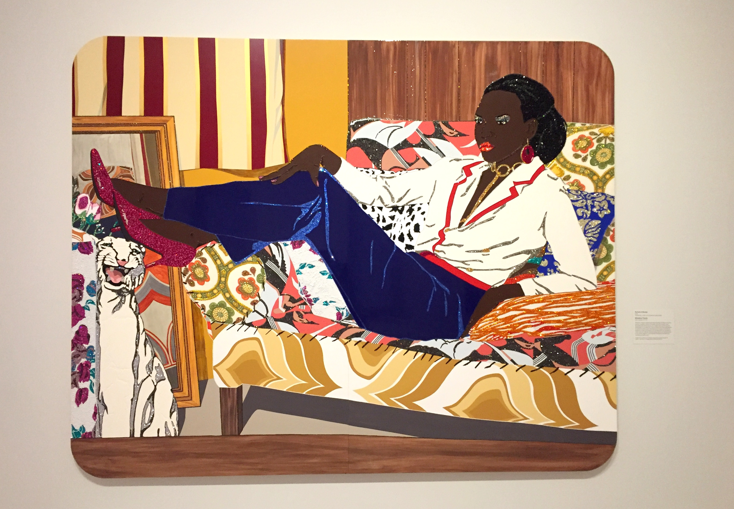 Portrait Gallery Art in DC - Mickalene Thomas