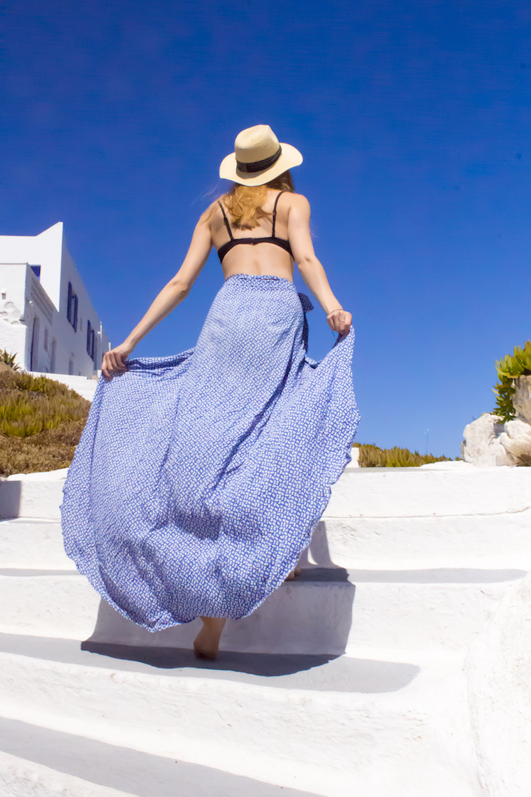 DIY Maxi Wrap Skirt